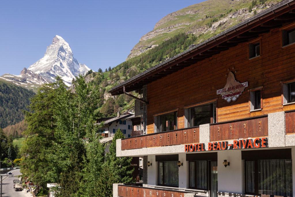 Hotel Beau Rivage Zermatt Ansicht