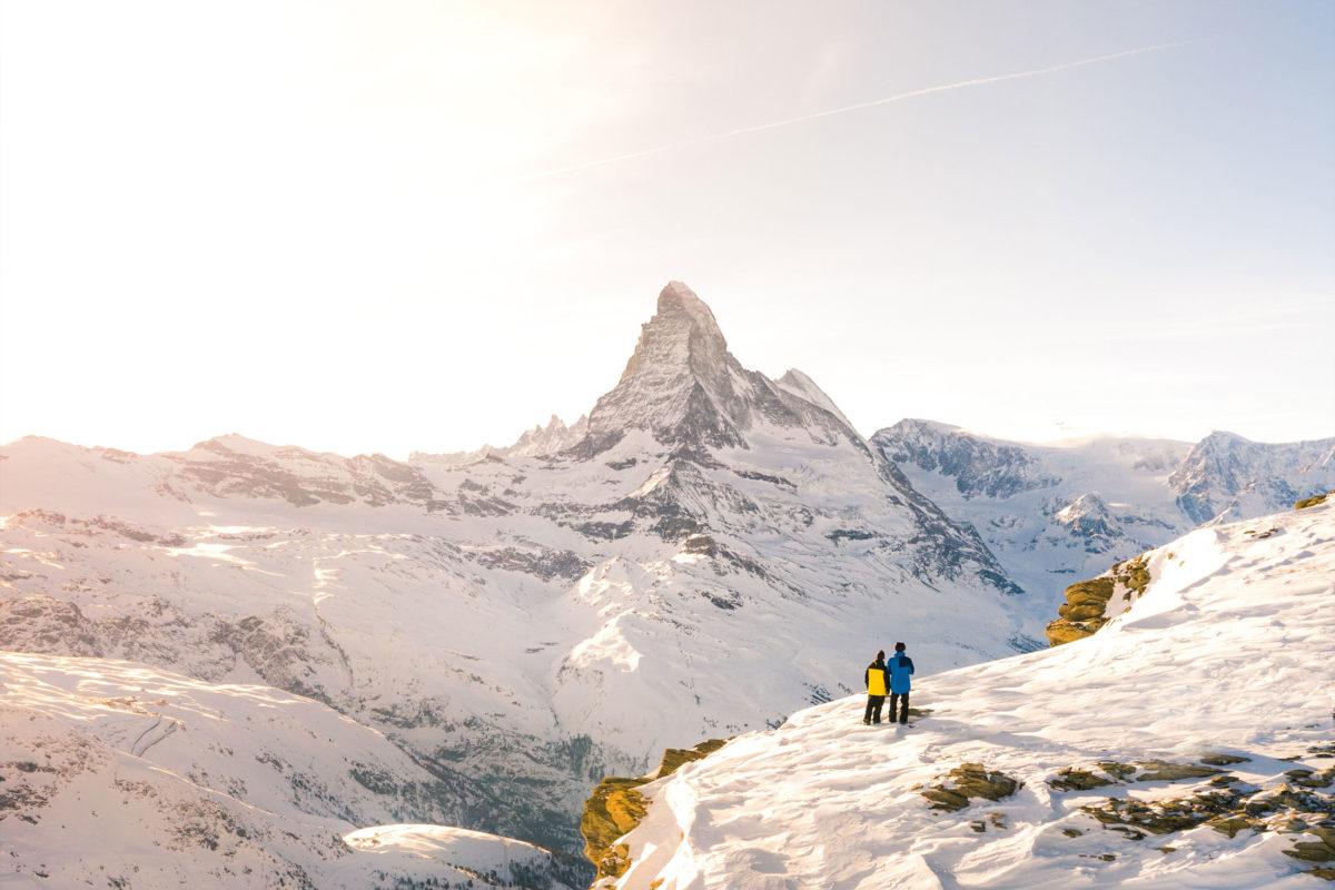 Hotel Beau Rivage Zermatt Matterhorn Winter