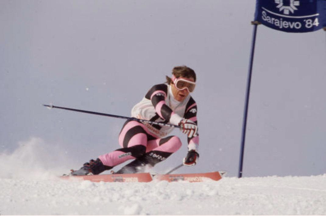 Hotel Beau Rivage Zermatt Max Julen Riesenslalom Olympische Spiele 1984