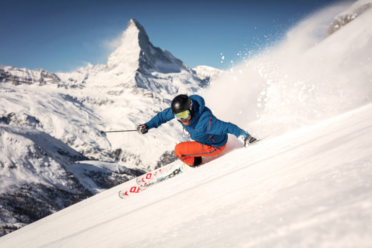 Hotel Beau Rivage Zermatt Skifahren Winter