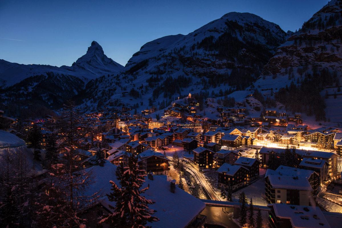 Hotel Beau Rivage Zermatt Zermatt im Winter